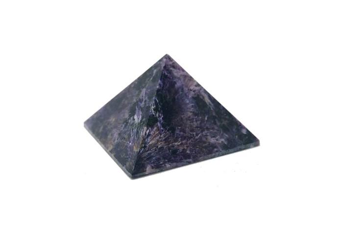 Пирамидка из чароита 5х5см