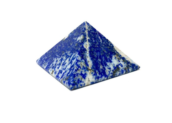 Пирамидка из афганского лазурита 5х5см