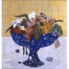 """Декоративне панно """"Квіти і фрукти"""""""