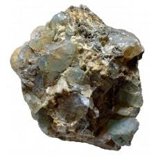Пегматит с кристаллами топаза
