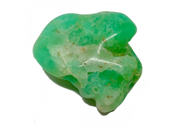 Хризопраз камінь 62г