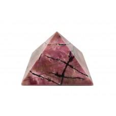Пірамідка з родоніту 5х5см