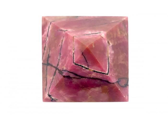 Пирамидка из родонита 5х5 см