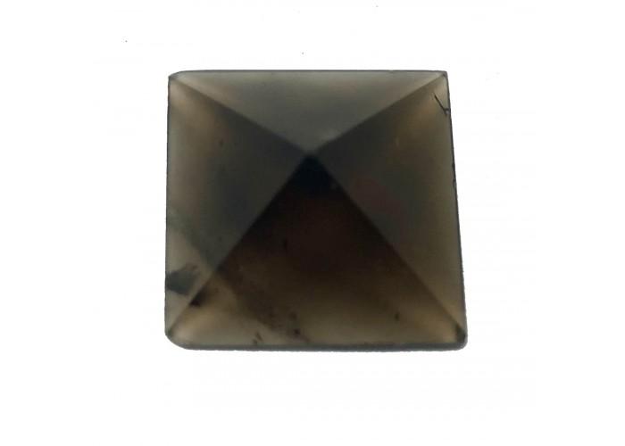 Пирамидка из дымчатого кварца 5х5 см