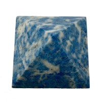 Пірамідка з блакитного лазуриту 3х3см