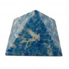 Пирамидка из лазурита голубого 5х5см