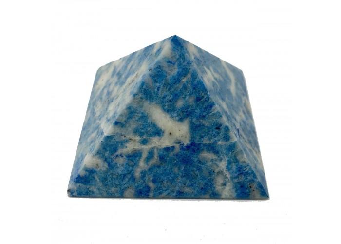 Пірамідка з лазуриту блакитрного 5х5см