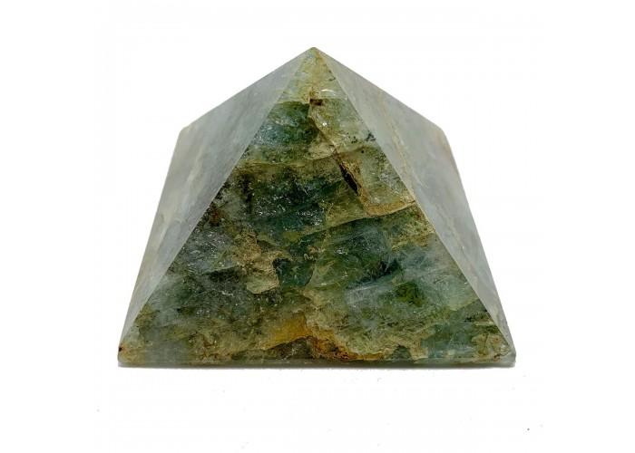Пірамідка зі смарагду 6х6 см