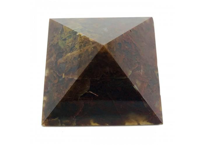 Пирамидка из сердолика 5х5см