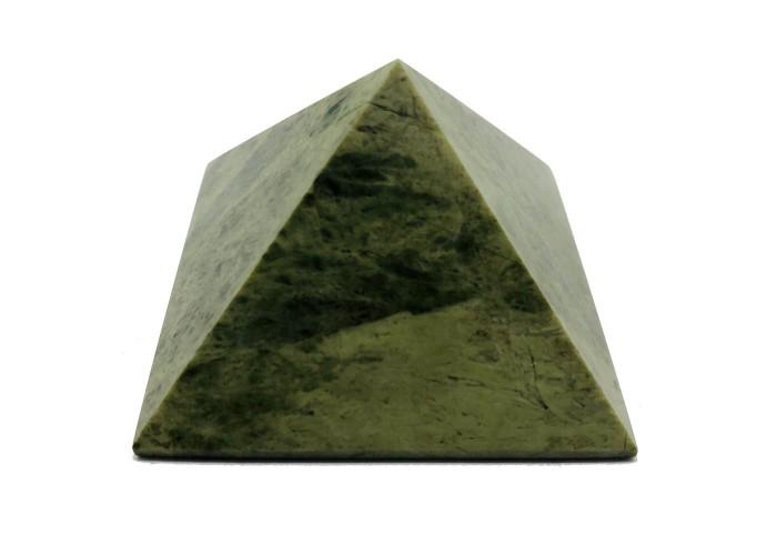 Пирамидка из унакита 5х5см