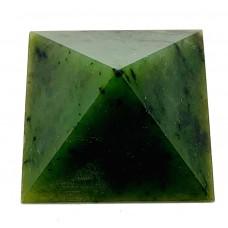 Пірамідка з нефриту 2х2см