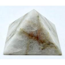 Пірамідка з молочного кварцу 5х5см