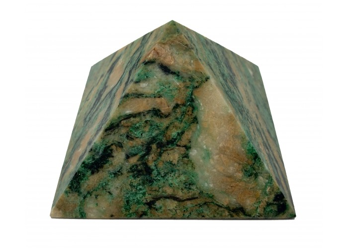 Пірамідка з ліственіту 8х8см