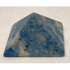 Пірамідка з блакитного лазуриту 2х2см