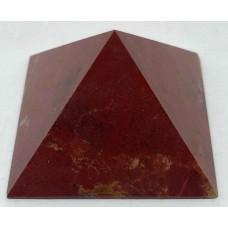 Пірамідка з червоної яшми 5х5 см