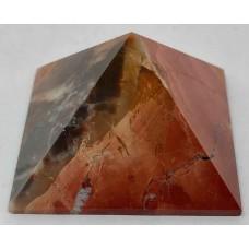 Пірамідка з пейзажної яшми 5х5 см