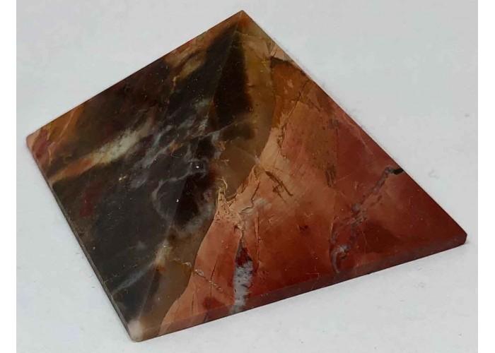 Пирамидка из пейзажной яшмы 5х5 см