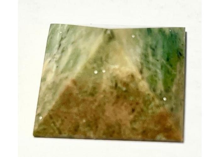 Пирамидка из лиственита 2х2 см