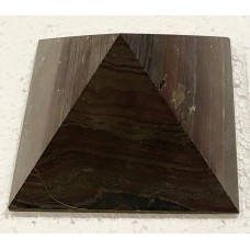 Піраміда золотого перерізу з джеспіліту 12х12см