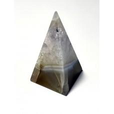 Пірамідка з аметистового кварцу висока 25 г
