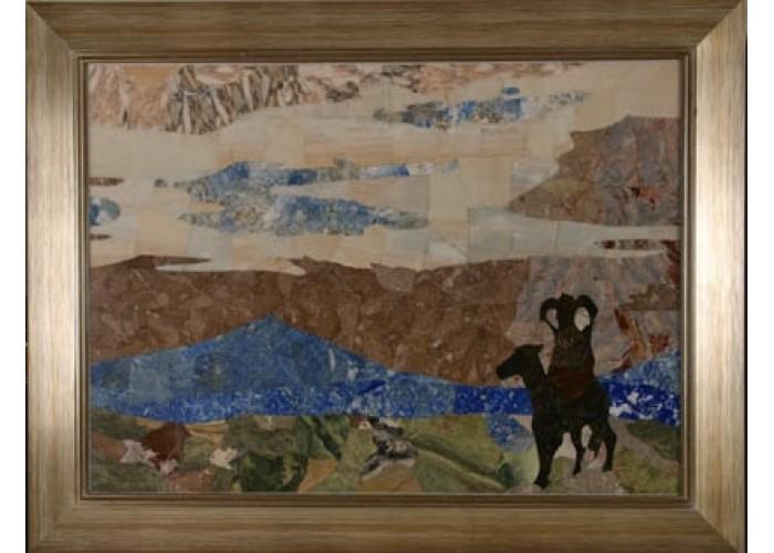 Картина флорентийская мозаика