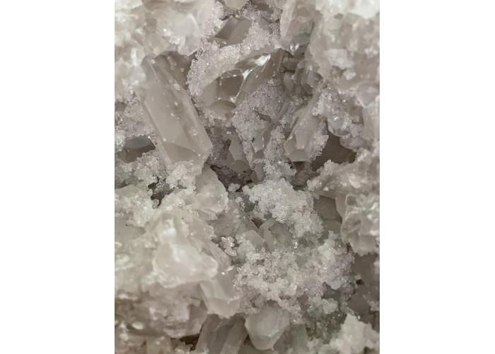 Кальцит, жеода з кристалами